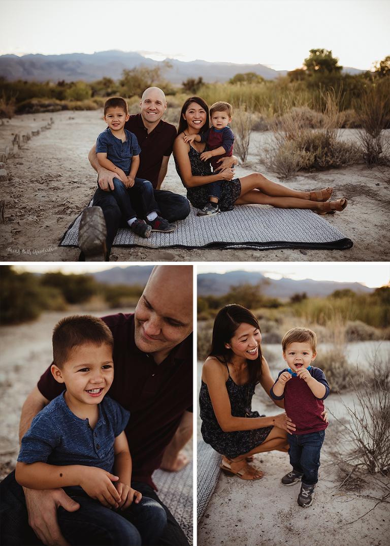 Vanderbilt Family   Family Pictures   Las Vegas Family Photographer   Outdoor Portraits   Desert Backdrop   Young Children   Toddlers   Las Vegas Parents