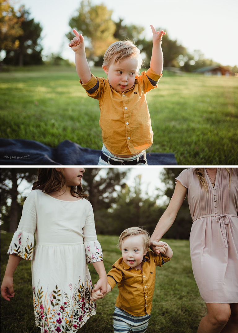 B Family | Family Photographer | Down Syndrome | Las Vegas Portraits | Outdoor Family Photos | Children with Special Needs