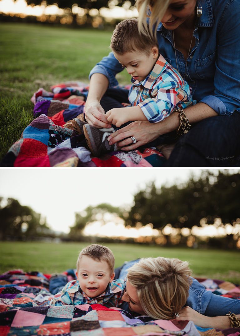 Corbin and Kirbi | Mommy & Me | Las Vegas Photographer | Down Syndrome Awareness Month | Children with Special Needs | Baby & Toddler Portraits | Motherhood