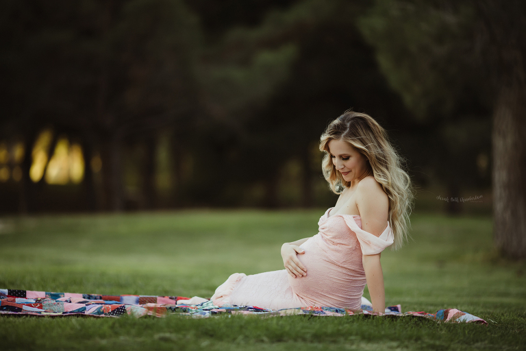 Rainbow Baby Maternity Session | Las Vegas Maternity Photographer | Pregnancy Loss | Miscarriage | Rainbow Pregnancy | Baby Photographer | Pregnancy Photos