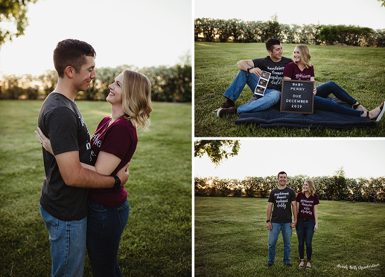 Baby Perry | Pregnancy Reveal | Baby Announcement | Pregnancy Announcement | Las Vegas Maternity Photographer | Ultrasound Photos | Pregnancy Announcement T-shirt