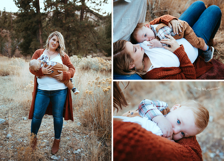 Fall Family Portrait Session | Las Vegas Photographer | Family Photos | Child Photographer | Sibling Photography | Brothers | Fall Photo Outfits | Family Photo Outfits