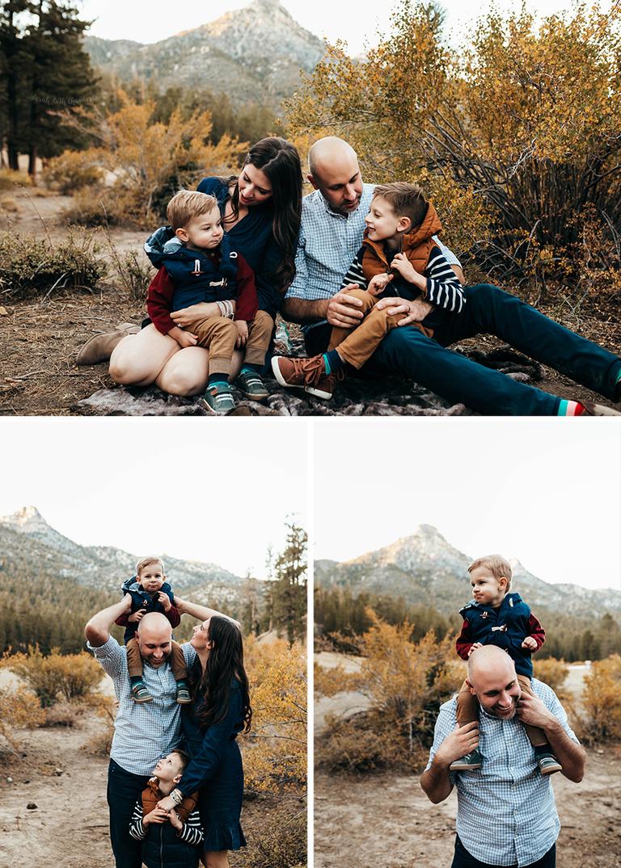Las Vegas Family Photography | Mountain Family Portraits | Fall Family Photos | Las Vegas Photographer | brothers | Fall Photos